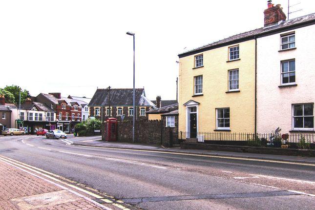 Thumbnail End terrace house for sale in Merthyr Road, Abergavenny