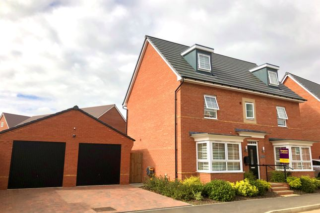 Thumbnail Detached house for sale in Magpie Road, Thrapston, Kettering