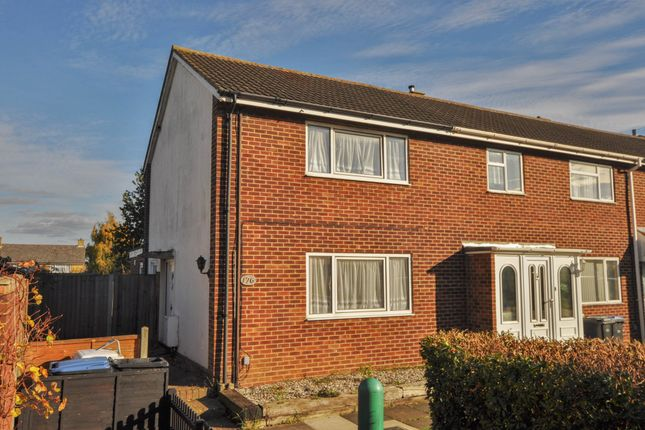 Thumbnail End terrace house for sale in Spencers Croft, Harlow