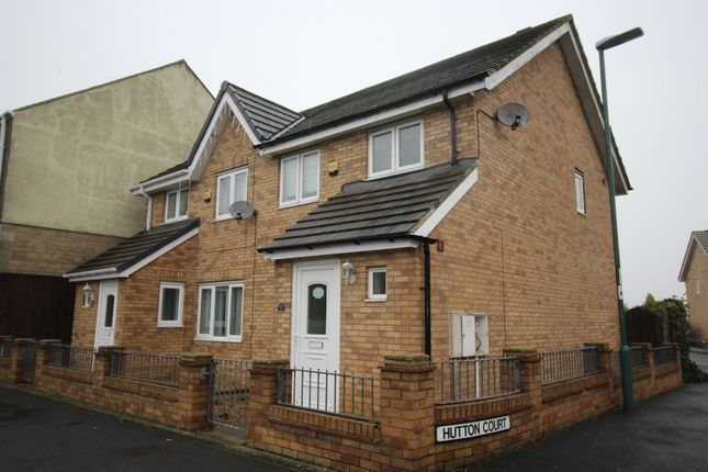 Thumbnail Semi-detached house to rent in Hutton Court, Annfield Plain, Stanley