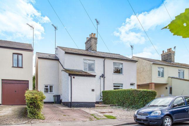 Thumbnail Semi-detached house for sale in Symonds Lane, Linton, Cambridge