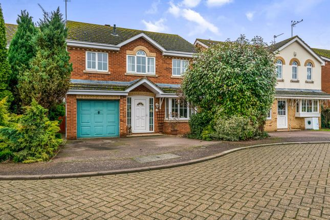 Thumbnail Detached house for sale in Fosberry Close, Wootton, Northampton