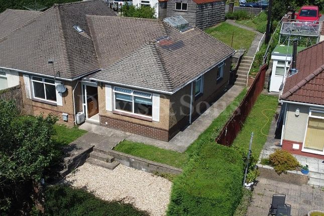 Thumbnail Semi-detached bungalow for sale in St Annes Close, Newbridge, Newport.