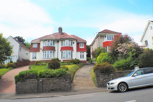 Thumbnail Semi-detached house to rent in Parc Wern Road, Swansea