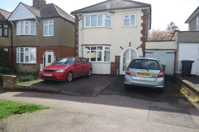 Thumbnail Link-detached house for sale in Central Avenue, Kingsthorpe, Northampton