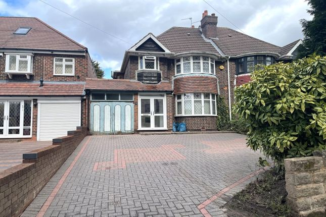 Thumbnail Semi-detached house for sale in Old Farm Road, Stechford, Birmingham