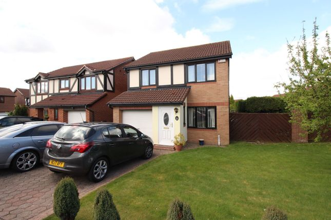 Thumbnail Detached house for sale in Queensbury Drive, North Walbottle, Newcastle Upon Tyne