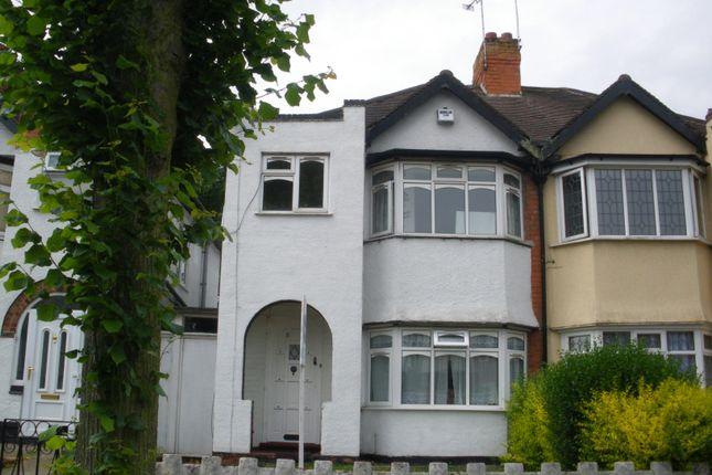 Thumbnail Semi-detached house to rent in Crantock Road, Birmingham