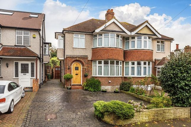 Thumbnail Semi-detached house for sale in Willoughby Avenue, Croydon