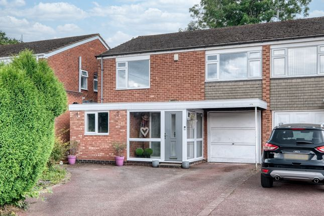 Thumbnail Semi-detached house for sale in Wayfield Close, Shirley, Solihull