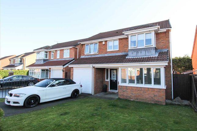 Thumbnail Detached house for sale in Dunsdale Drive, Eastfield Vale, Cramlington