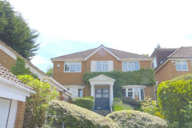 Thumbnail Detached house for sale in Hadley Close, Elstree, Borehamwood
