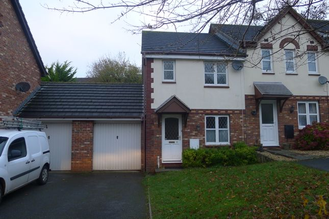 2 bed semi-detached house to rent in Cormorant Close, Torquay TQ2