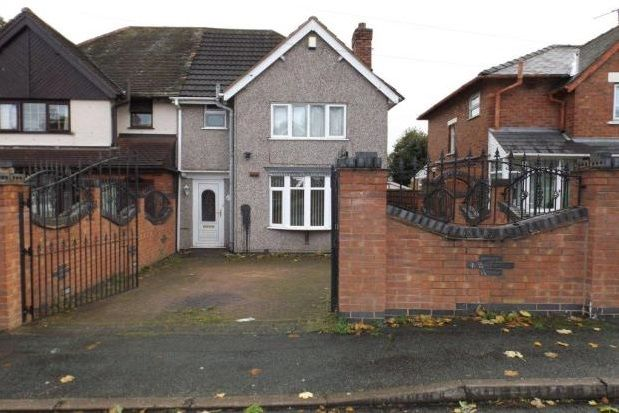 Thumbnail Property to rent in Pine Street WS3, Bloxwich, Walsall