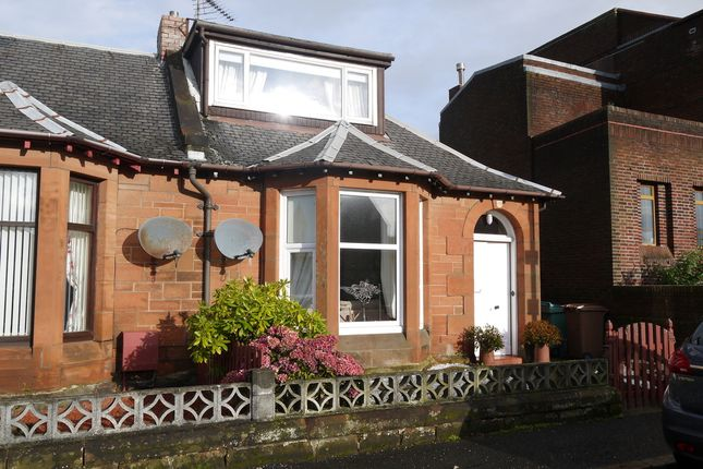 Thumbnail End terrace house for sale in St. Quivox Road, Prestwick