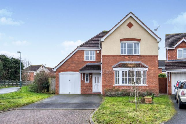 Thumbnail Detached house for sale in Holly Drive, Ryton On Dunsmore, Coventry