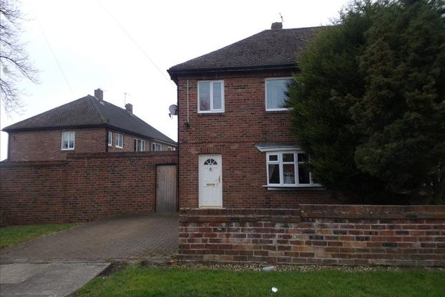 Thumbnail Semi-detached house to rent in Alston Avenue, Cramlington
