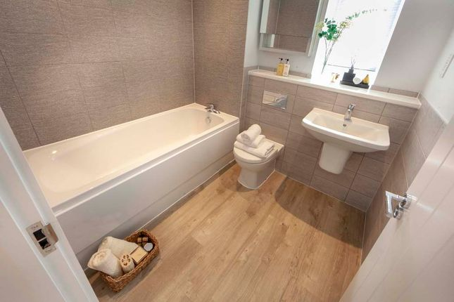 Thumbnail Semi-detached house for sale in Bawsey Court, King's Lynn