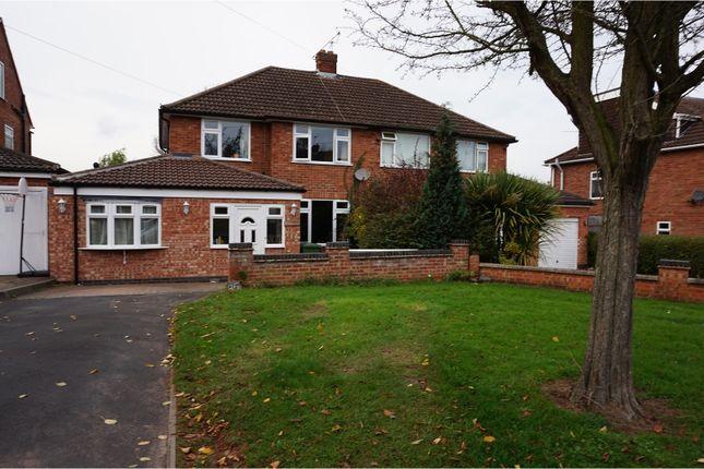 Thumbnail Semi-detached house for sale in Kelvin Road, Leamington Spa