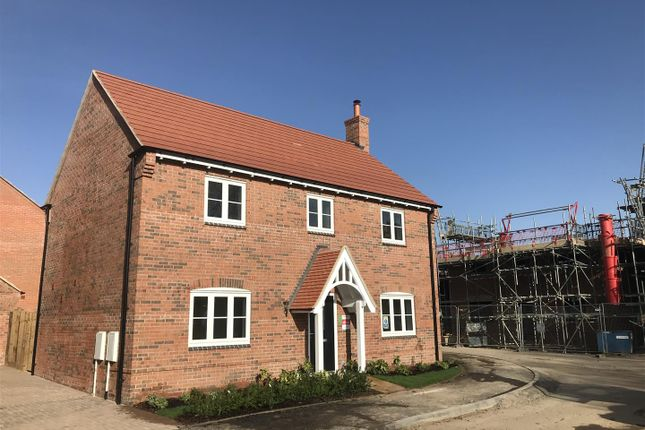 Thumbnail Detached house for sale in Cropston Road, Anstey, Leicester