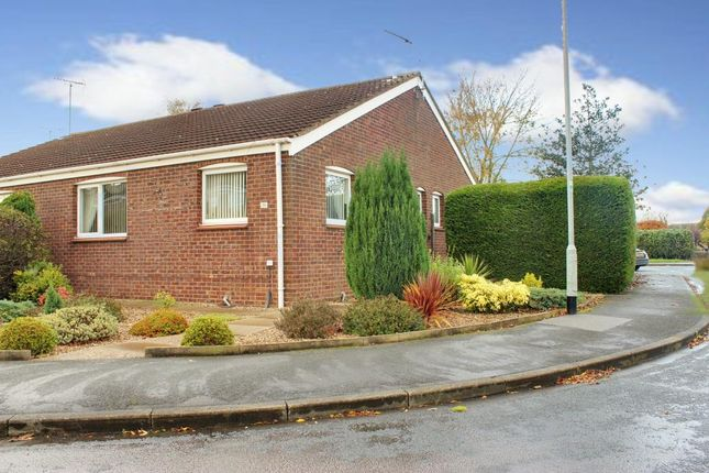 Thumbnail Semi-detached bungalow to rent in Brereton Close, Beverley