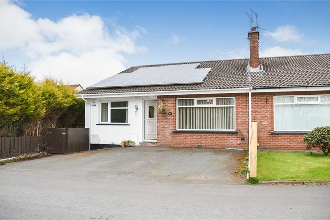 Thumbnail Semi-detached bungalow for sale in Causeway End Road, Lisburn, County Antrim