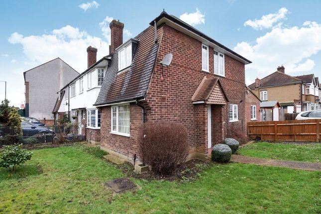 Thumbnail End terrace house for sale in West Barnes Lane, New Malden