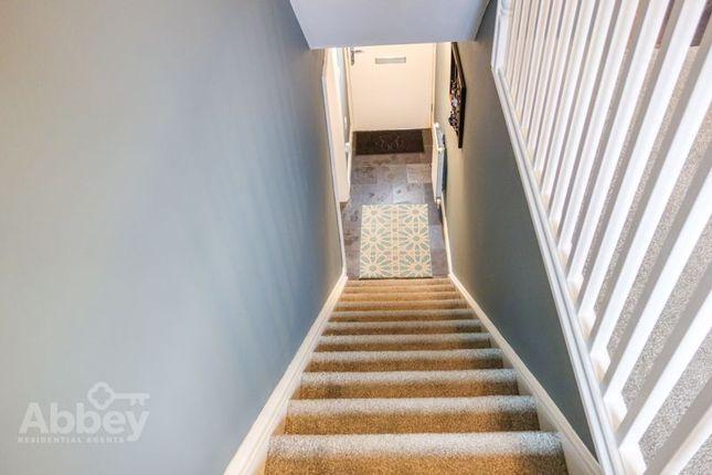 Staircase of Lon Y Grug, Coed Darcy, Neath SA10