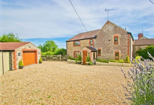 Thumbnail Detached house for sale in Prestleigh, Shepton Mallet