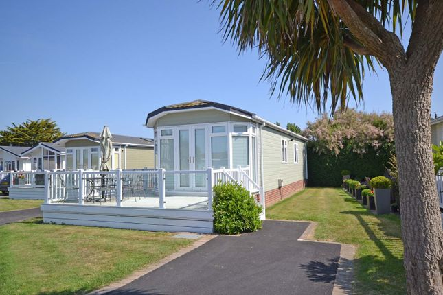 Thumbnail Mobile/park home for sale in Pebble Beach Park, Warner's Lane, Selsey