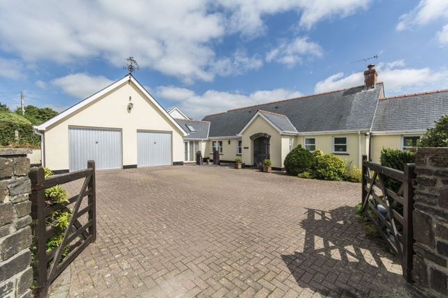 Thumbnail Detached bungalow for sale in Penffordd, Clynderwen