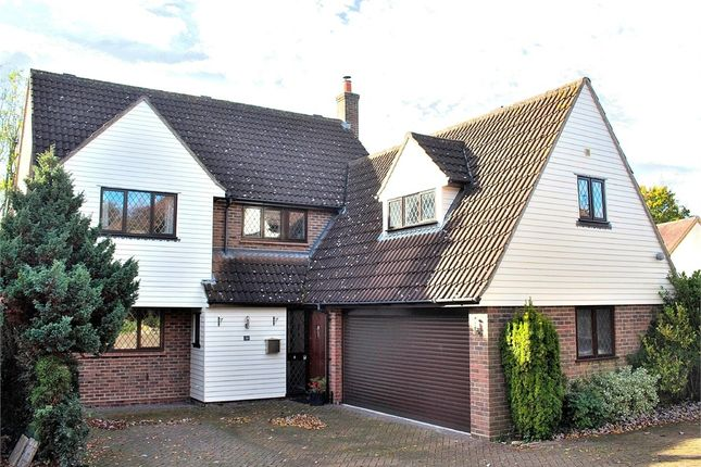 Thumbnail Detached house for sale in High Meadow, Dunmow