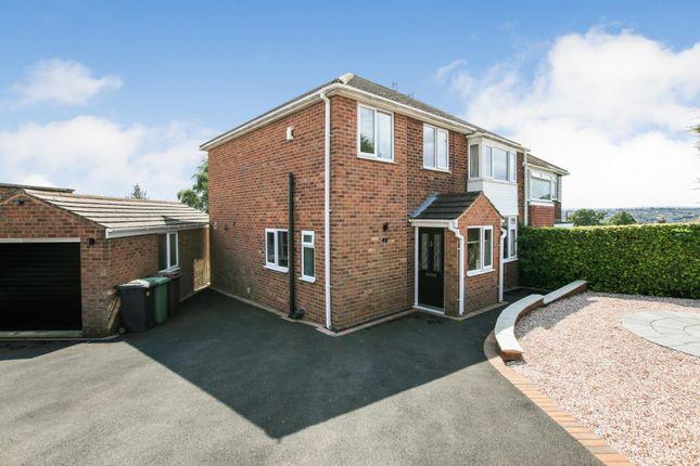 Thumbnail Semi-detached house for sale in Warren Rise, Dronfield, Derbyshire