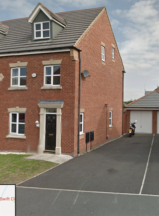 Thumbnail Semi-detached house to rent in Swift Close, Blackpool