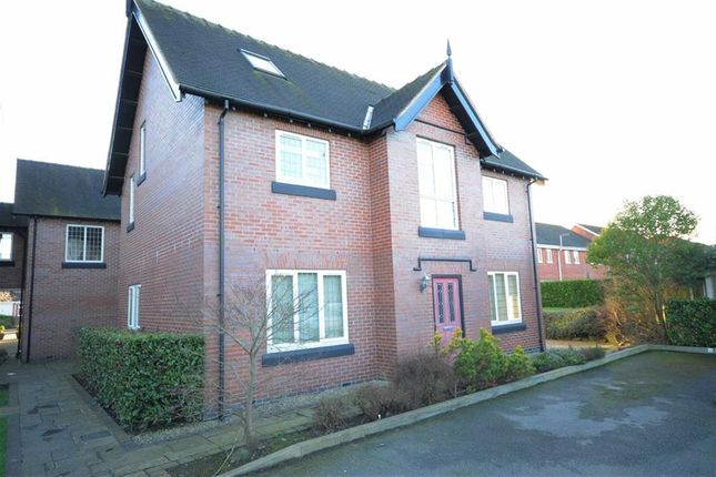 Thumbnail Flat for sale in Manor Farm Drive, Tittensor, Stoke-On-Trent