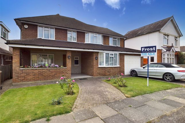 Thumbnail Detached house for sale in Clifford Grove, Ashford, Middlesex