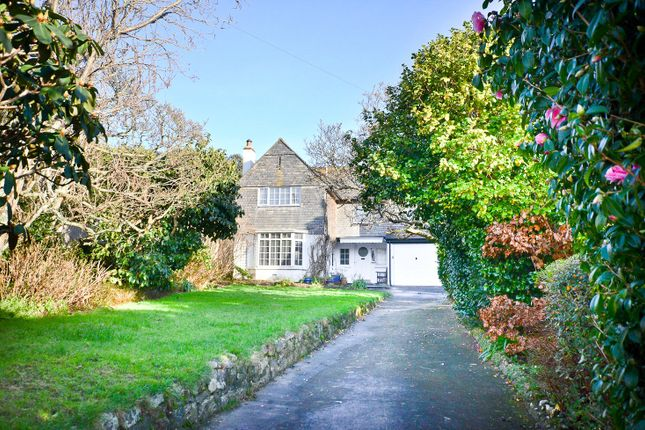 Thumbnail Detached house for sale in Greystones, 1 Landeryon Gardens, Penzance