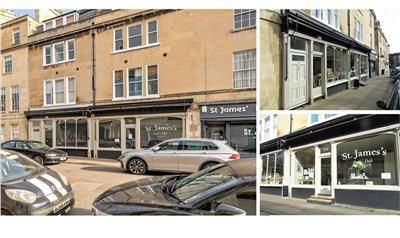 Thumbnail Retail premises for sale in 5-6 St. James's Street, Bath, Bath And North East Somerset