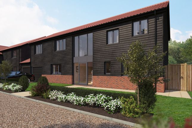 Thumbnail Link-detached house for sale in Low Road, Burwell, Cambridge