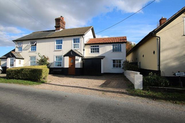 Thumbnail Semi-detached house for sale in Mill Road, Banham, Norwich