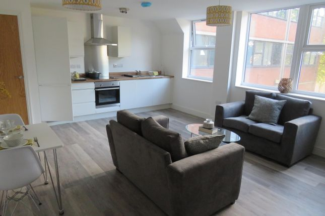 Thumbnail Flat to rent in Friary Street, Derby