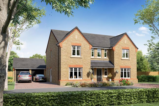 "5 bed detached house for sale in ""Plot 48 - The Edlingham"" at Shireoaks Common, Shireoaks, Worksop S81"
