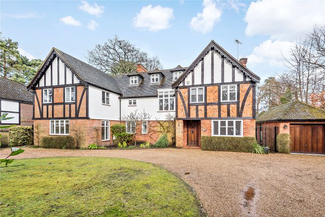 Thumbnail Detached house to rent in Forest Road, Woking, Surrey