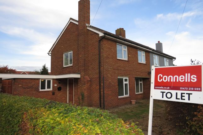 Thumbnail Semi-detached house to rent in Kingsland, Shotley, Ipswich