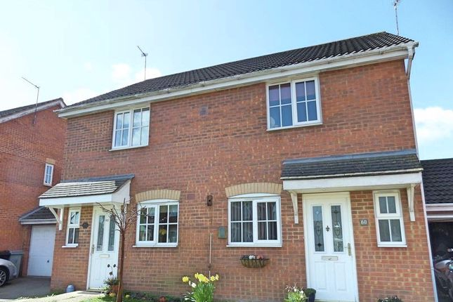Thumbnail Semi-detached house to rent in Mercia Drive, Ancaster, Grantham