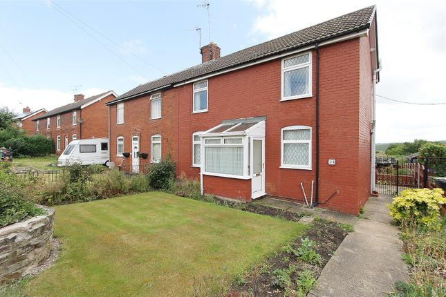 3 bed semi-detached house for sale in East Crescent, Duckmanton, Chesterfield