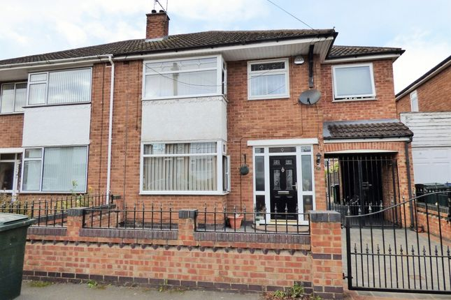 Thumbnail Semi-detached house for sale in Royal Crescent, Willenhall, Coventry