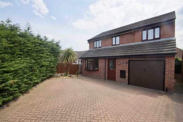 Thumbnail Detached house for sale in Ploughmans Headland, Stanway, Colchester