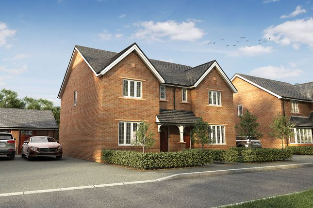 "Thumbnail Semi-detached house for sale in ""The Kipling"" at Wood Lane, Binfield, Bracknell"