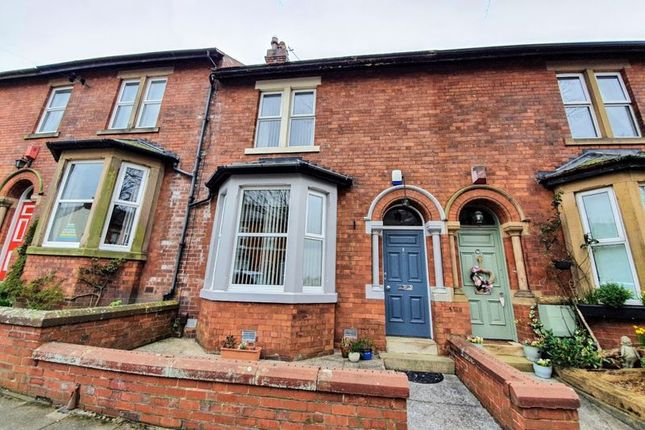 Thumbnail Terraced house for sale in Rosebery Road, Stanwix, Carlisle